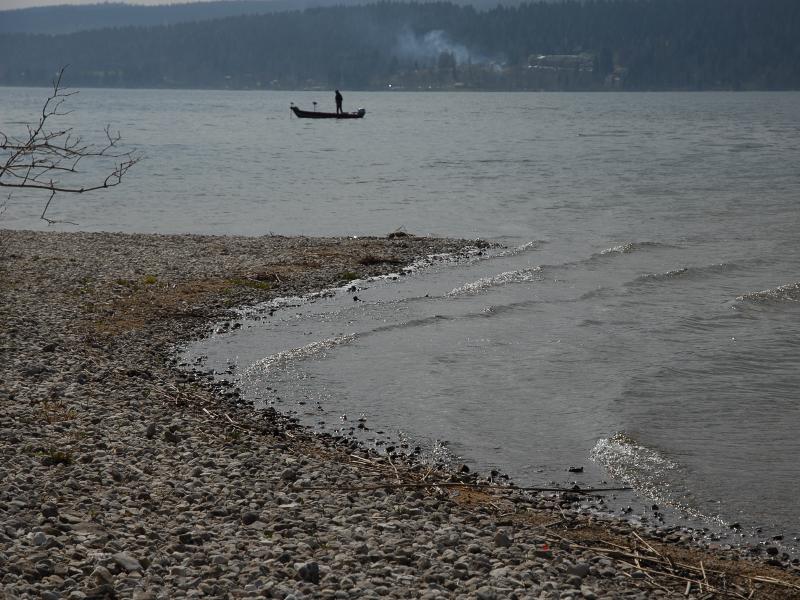 Cuspate at Lac de Joux, Switzerland